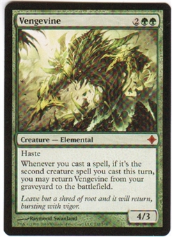 Magic the Gathering Rise of the Eldrazi Single Vengevine Foil