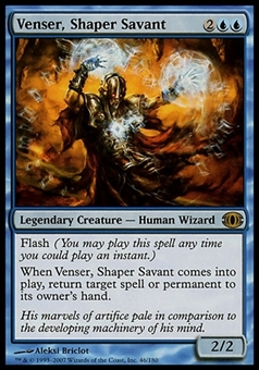 Magic the Gathering Future Sight Single Venser, Shaper Savant - MODERATE PLAY (MP)
