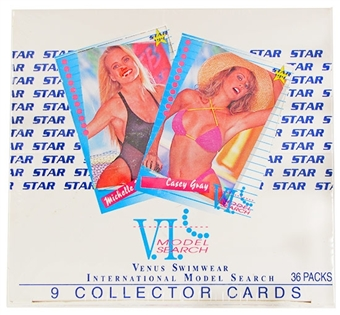 V.I. Model Search Wax Box (1994 Star)