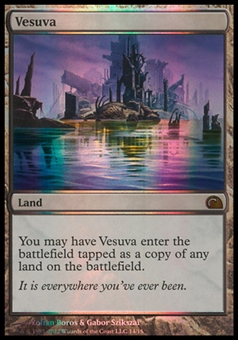 Magic the Gathering From The Vault Single Vesuva FOIL - NEAR MINT (NM)