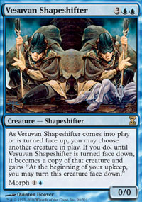 Magic the Gathering Time Spiral Single Vesuvan Shapeshifter Foil