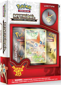 Pokemon: Mythical Pokemon Collection Box (Victini) (Presell)