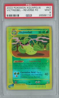 Pokemon Aquapolis Victreebel 42/147 Reverse Foil PSA 9