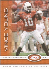 2006 Sage Vince Young Rookie National Convention Exclusive - 100 Card Lot