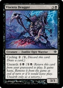 Magic the Gathering Shards of Alara Single Viscera Dragger FOIL