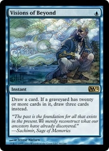 Magic the Gathering 2012 Single Visions of Beyond - NEAR MINT (NM)