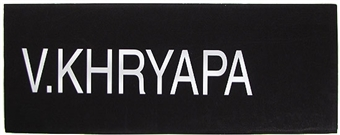 Viktor Khryapa 2004 NBA Draft Board Basketball Nameplate (One of a Kind!)