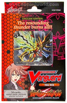 Cardfight Vanguard Resonance of Thunder Dragon Deck