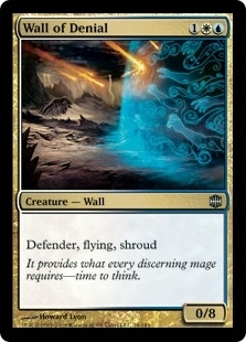 Magic the Gathering Alara Reborn Single Wall of Denial - NEAR MINT (NM)