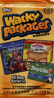 Wacky Packages Series 11 Collector's Edition Hobby Pack (Topps 2013)