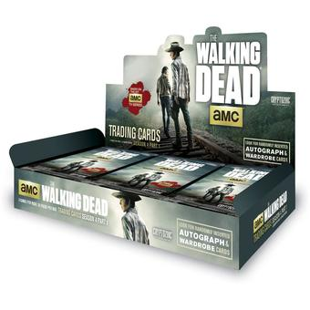 The Walking Dead Season 4 Part 1 Trading Cards Box (Cryptozoic 2016) (Presell)