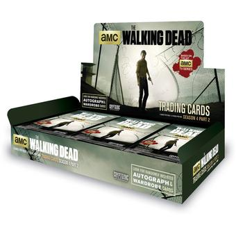 The Walking Dead Season 4 Part 2 Trading Cards 12-Box Case (Cryptozoic 2016) (Presell)