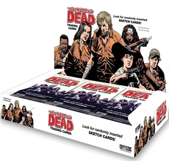 The Walking Dead Comic Book Set 1 Trading Cards 12-Box Case (Cryptozoic 2012)