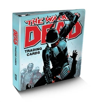 The Walking Dead Comic Book Trading Cards SDCC Binder w/ Full 91 card set! (Cryptozoic 2012)