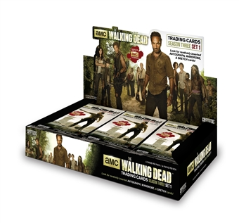 The Walking Dead Season 3 Part 1 Trading Cards Box (Cryptozoic 2014) (due March)