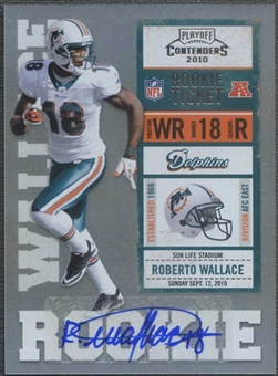 2010 Playoff Contenders #182 Roberto Wallace Rookie Autograph