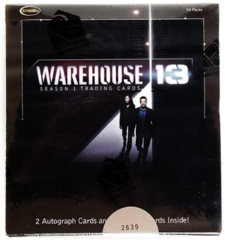 Warehouse 13 Season One Trading Cards Box (Rittenhouse 2010)