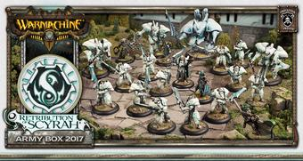 Warmachine: Retribution of Scyrah Army Box 2017 (Privateer Press) - LIMITED RELEASE!