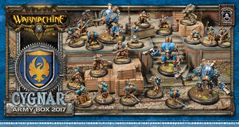 Warmachine: Cygnar Army Box 2017 (Privateer Press) - LIMITED RELEASE!