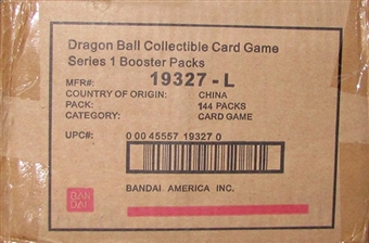 Bandai Dragon Ball Warriors Return Booster 6-Box Case