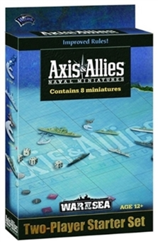 Axis & Allies Miniatures War at Sea Starter Case (2010) (6 ct.)