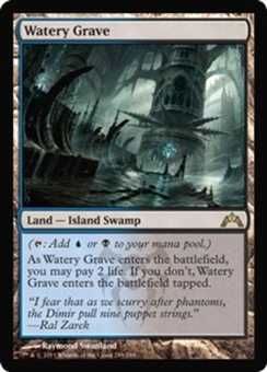 Magic the Gathering Gatecrash Single Watery Grave UNPLAYED (NM/MT)