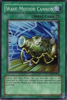 Yu-Gi-Oh Champion Pack 5 Single Wave Motion Cannon Super Rare