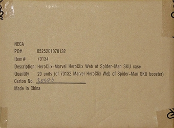 Marvel HeroClix Web of Spiderman Booster Case (20 Ct.)