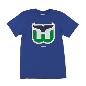Hartford Whalers Reebok Royal The New SLD Tee Shirt