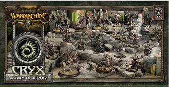 Warmachine: Cryx Army Box 2017 - LIMITED RELEASE