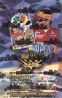 1999 Press Pass Wheels High Gear Racing Retail Box