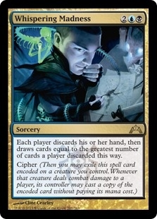 Magic the Gathering Gatecrash Single Whispering Madness - NEAR MINT (NM)