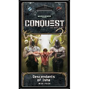 Warhammer 40,000: Conquest LCG - Descendants of Isha War Pack (FFG)