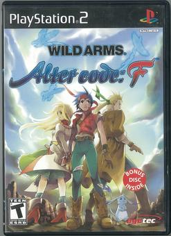 Sony PlayStation 2 (PS2) Wild Arms Alter Code: F Complete