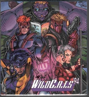 1994 Wildstorm WildC.A.T.S. Trading Card Box