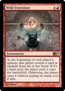 Magic the Gathering 2011 Single Wild Evocation Foil