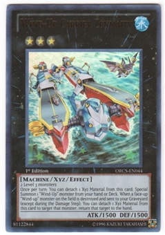 Yu-Gi-Oh Order of Chaos Single Wind-Up Carrier Zenmaity Ultra Rare