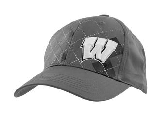 Wisconsin Badgers Top Of The World Tommy Gun Gray Adjustable Hat (Adult One Size)