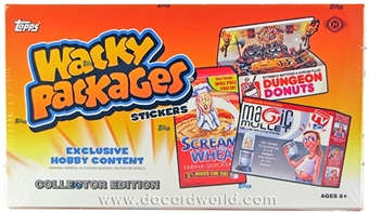 Wacky Packages Series 10 Collector's Edition Hobby Box (Topps 2013)