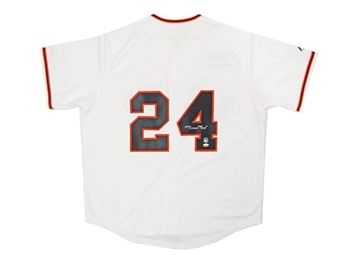 Willie Mays Autographed San Francisco Giants Baseball Jersey