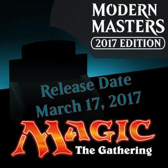Magic the Gathering Modern Masters 2017 Edition Booster 4-Box Case (Presell)