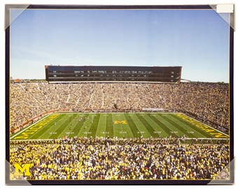 "Michigan Wolverines Artissimo ""The Big House"" Stadium 22x28 Canvas"