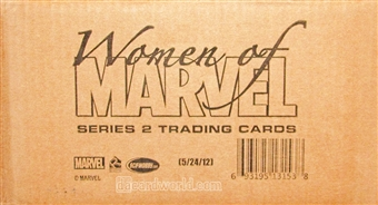 Women of Marvel: Series 2 Trading Cards 12-Box Case (Rittenhouse 2013)