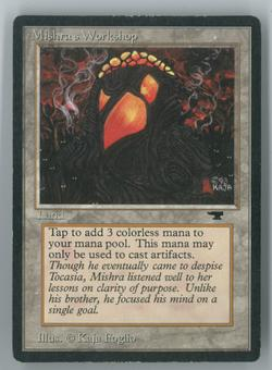 Magic the Gathering Antiquities Single Mishra's Workshop - MODERATELY PLAYED (MP) v8