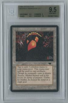 Magic the Gathering Antiquities Single Mishra's Workshop BGS 9.5 GEM MINT (9.5, 9, 9.5, 10)