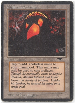Magic the Gathering Antiquities Single Mishra's Workshop - HEAVY PLAY (HP)