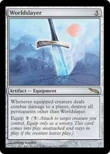 Magic the Gathering Mirrodin Single Wrench Mind Foil