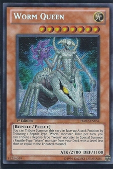 Yu-Gi-Oh Hidden Arsenal 2 Single Worm Queen Secret Rare