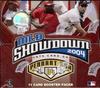 WOTC MLB Showdown 2004 Pennant Run Baseball Booster Box