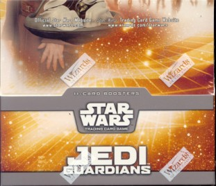 WOTC Star Wars TCG Jedi Guardians Booster Box
